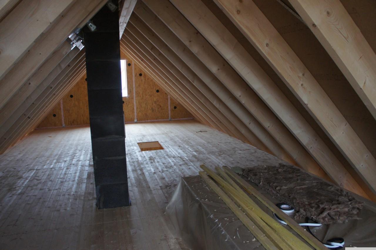 Dachboden..   Garnichtmal sooo.. klein  ;-)